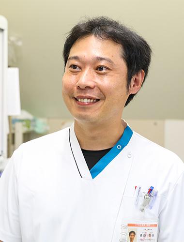 青山晋也さん(薬剤師・入社2年目/36才)